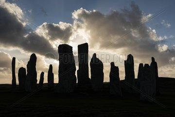 Callanish Standing Stones  3000 Jahre alter Steinkreis  Isle of Lewis