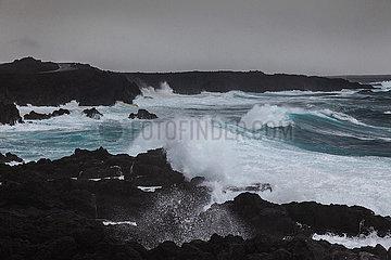 Southern Los Hervideros - Lanzarote