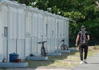 Gemeinschaftsunterkunft fuer Gefluechtete Menschen in Berlin-Hohenschoenhausen