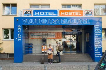 Das AO Hotel / Hostel in der Koepenicker Strasse in Berlin-Mitte