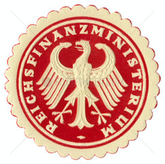 Siegel Reichsfinanzministerium  um 1926