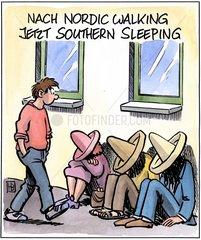 Southern Sleeping
