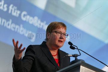 Blankenfelde-Mahlow  Deutschland  Iris Gleicke  SPD  Parlamentarische Staatssekretaerin