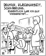 Deutscharbeit Schilderung