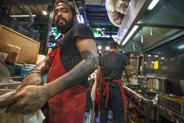 Indisches Schnellrestaurant in Warschau