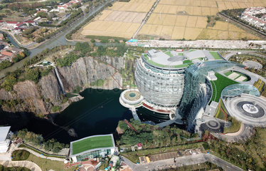 CHINA-SHANGHAI-UNUSED QUARRY-HOTEL (CN)