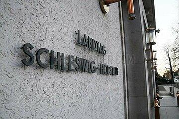 Landtag von Schleswig-Holstein in Kiel