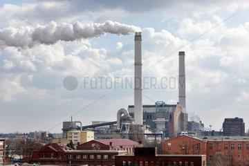 Berlin  Deutschland  Heizkraftwerk Klingenberg in Berlin-Rummelsburg
