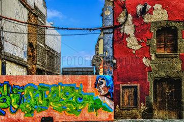 Graffities in der Altstadt von Las Palmas