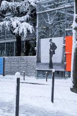 FRANCE - PARIS - UNDER SNOW 2018