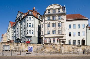 Halle/Saale  Deutschland  sanierte Altbauten am Universitaetsring