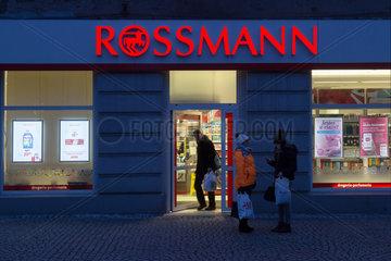 Polen  Bytom (Beuthen) - Filiale der deutschen Drogeriekette Rossmann