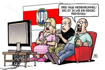 NPD-Medienrummel