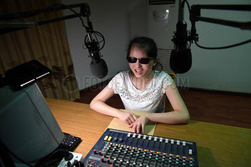 CHINA-VISUALLY IMPAIRED GIRL-BROADCASTING DREAM (CN)