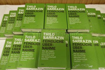 Pressekonferenz/ Buchvorstellung: Vorstellung des Buchs Feindliche Uebernahme von Thilo Sarrazin