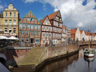 Hansestadt  Stade  Altstadt  historisch