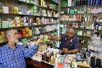IRAQ-BAGHDAD-HERBAL MEDICINE-FEATURE