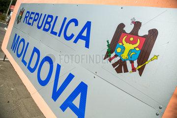 Tudora  Republik Moldau  Staatswappen der Republik Moldau