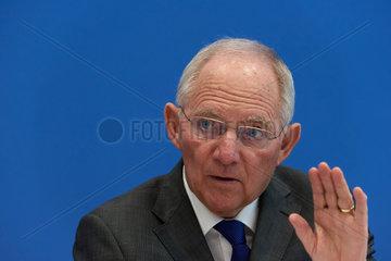 Berlin  Deutschland  Wolfgang Schaeuble  CDU  Bundesfinanzminister