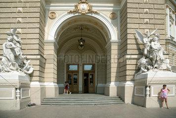 Odessa  Ukraine  Zugang zum Opernhaus im Stadtzentrum