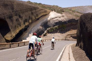 La Orotava  Spanien  die La Tarta-Kurve
