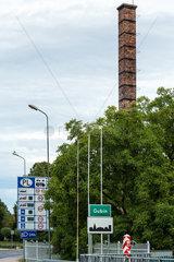 Gubin  Polen  Einfahrt in die Stadt