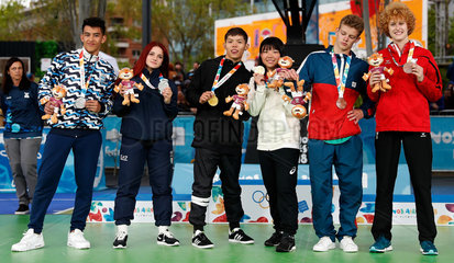 (SP)ARGENTINA-BUENOS AIRES-SUMMER YOUTH OLYMPIC GAMES-BREAKING-MIXED TEAM