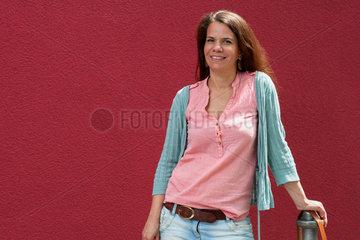 Berlin  Deutschland  Diana Henniges  Sprecherin der Initiative Moabit hilft