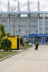 Tiraspol  Republik Moldau  Die Grosse Arena auf dem Sheriff-Komplex