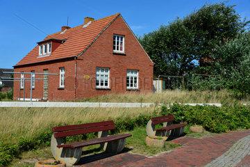 Baltrum  Deutschland  Pension Haus Bremen auf der Nordseeinsel Baltrum