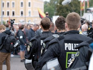 Proteste in Chemnitz