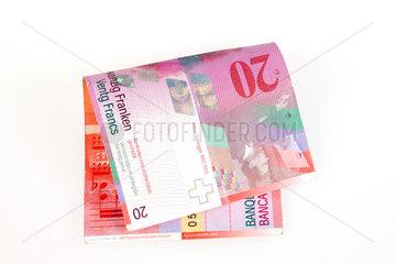 Berlin  Deutschland  20 Schweizer Franken