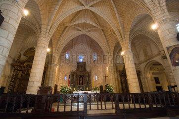 Santo Domingo  Dominikanische Republik  Altar der Kathedrale