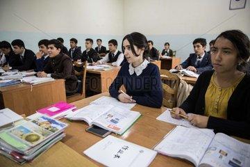 TAJIKISTAN-DUSHANBE-CHINESE LANGUAGE