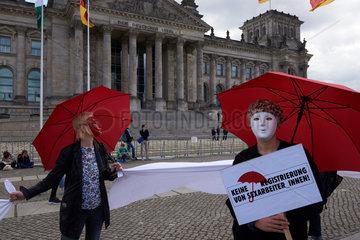 Berlin  Deutschland  Protest gegen das ProstSchG
