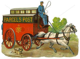 Paketdienst  Royal Mail  Grossbritannien  1890