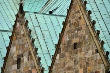 Hildesheim  Deutschland  Detailansicht des Hildesheimer Doms