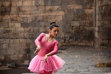 SYRIA-SWEIDA-BALLERINA-KHUDAIR