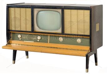 DDR Fernsehtruhe Cabinet  1958
