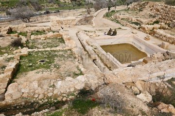 MIDEAST-JERUSALEM-EIN HANYA-ARCHAEOLOGY