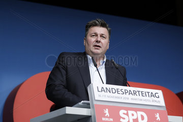 SPD Landesparteitag 17. November 2018