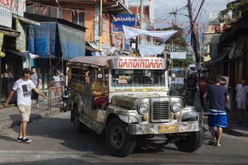 Sammeltaxi Jeepney