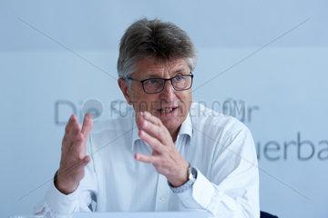 Berlin  Deutschland  Fritz Brickwedde  Praesident des BEE