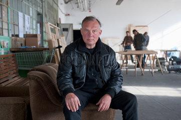 Berlin  Deutschland  Florian Schoettle  Die Linke  Mitarbeiter beim Kulturwerk des BBK als Atelierbeauftragter