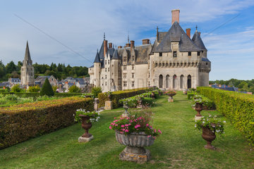 Langeais castle in the Loire Valley - France