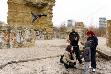 Berlin  Deutschland  Ute Wollberg  Anti-Gewalt-Projekt Courage