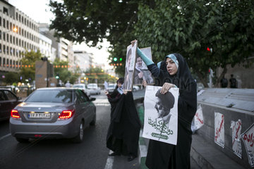 IRAN-TEHRAN-PRESIDENTIAL ELECTION-STREET RALLY