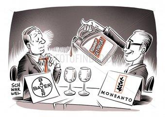 Bayer greift nach Monsanto