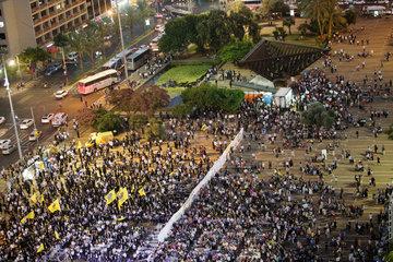 ISRAEL-TEL AVIV-CHABAD EVENT-SEGREGATION