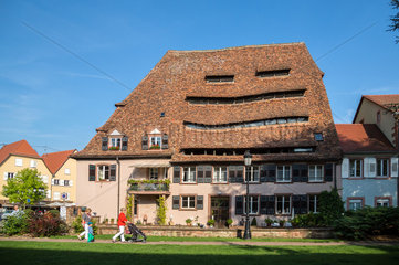 Weissenburg  Frankreich  das Salzhaus in der Altstadt